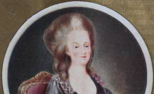 La reine Marie-Antoinette (illustration).