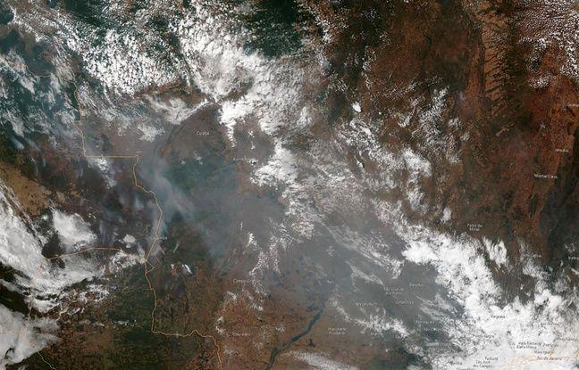 Les feux en Amazonie constituent une «crise internationale», selon Emmanuel Macron