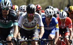 Peter Sagan n'a jamais fait mieux que 6e sur le Vélodrome de Roubaix.