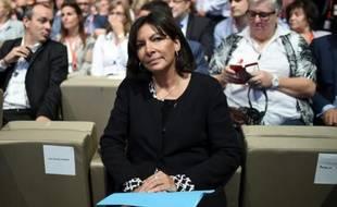 La maire de Paris Anne Hidalgo le 29 septembre 2015, à Paris
