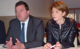 La députée Isabelle Le Callennec (à droite) sera l'invitée ce mardi de l'émission #DirectPolitique
