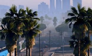 Une image du premier trailer du jeu «Grand Theft Auto V».