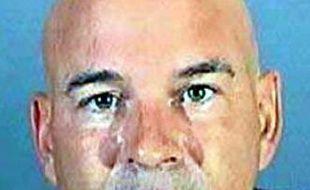 Photographie de Brian Lee Randone prise par le bureau du shérif de Los Angeles lors de son arrestation.