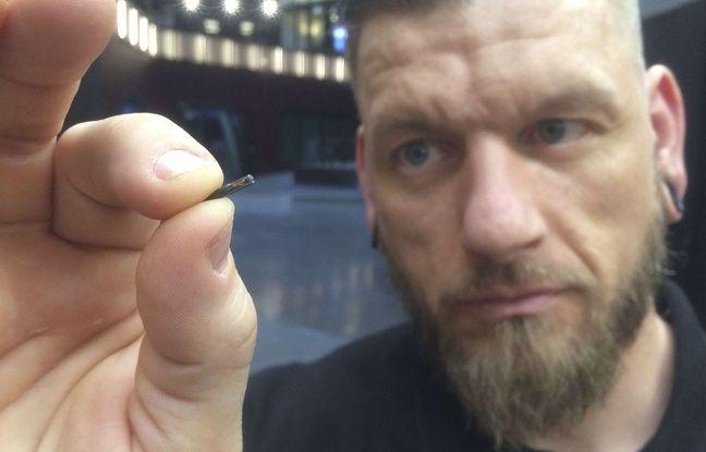 Implants suédois, proches de ceux implantés aux salariés d'Epicenter en Suède.