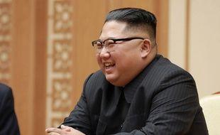 Kim Jong-Un, le 9 septembre 2018 à Pyongyang.