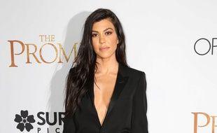 Kourtney Kardashian à la première de The Promise à Los Angeles