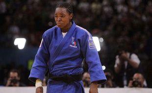 La judoka française Audrey Tcheumeo, lors d'un combat le 26 août 2011 aux championnats du monde à Paris.