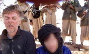 Photo de touristes européens diffusée le 18 septembre 2009 par la branche nord-africaine d'Al Qaida, qui avait renvendiqué l'enlèvement au Niger.
