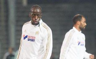 Souleymane Diawara le 24 septembre 2013 à Marseille.