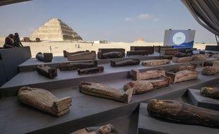 Le site de Saqqara en Egypte, le 14 novembre 2020.