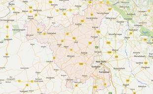 Localisation de l'Etat Haryana, en Inde - Google Maps
