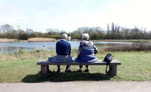 Un couple de retraités (illustration).