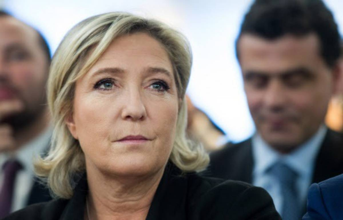 Marine Le Pen – CHAMUSSY/SIPA