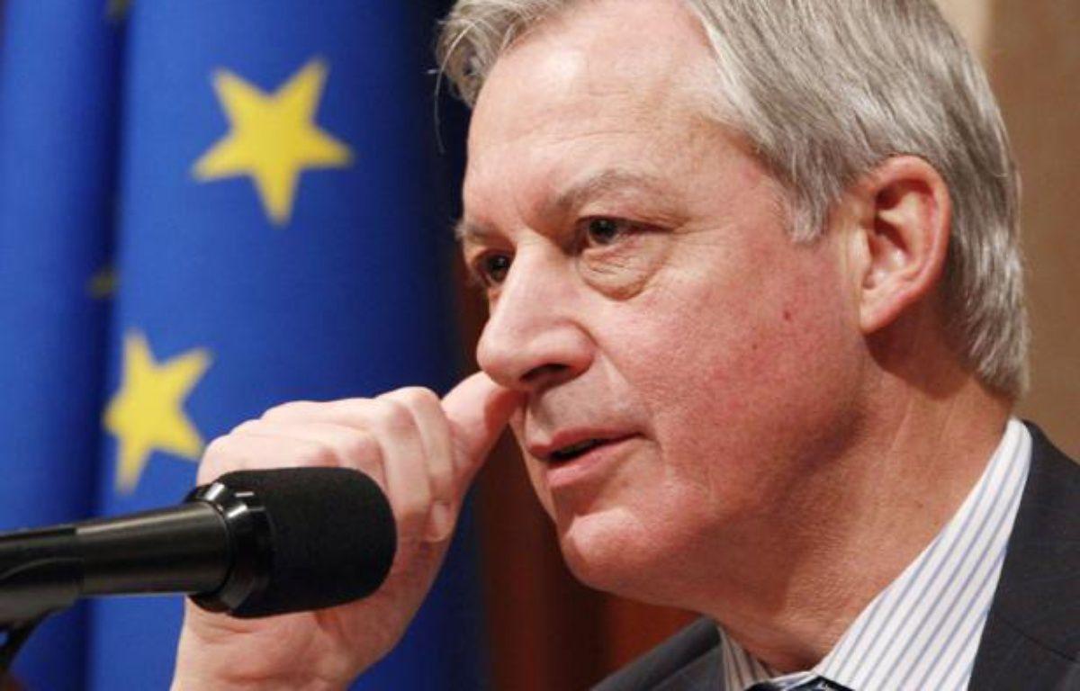 Christian Noyer, gouverneur de la Banque de France – Koji Sasahara/AP/SIPA