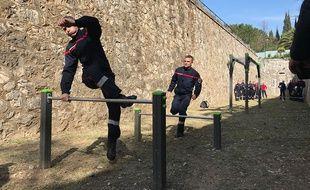 Un centre d'entraînement mutualisé des forces de sécurité et de secours a été installé au fort de la Batterie russe, à Nice.