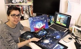 Laplikili, lancée par la Niçoise Christina Lumineau, permettra d'associer le papier à la réalité augmentée.