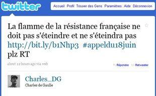 Et si le Général de Gaulle lançait son appel du 18 juin aujourd'hui?