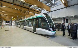 Les nouvelles rames du tramway 7.
