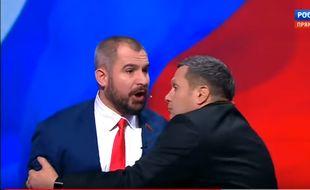 Le candidat Maxim Souraïkine