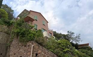 La maison squattée se trouve à Théoule-sur-Mer, près de Cannes