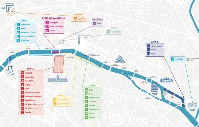 Paris devient « un grand terrain de jeu » pour les Journées olympiques.