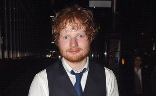 Ed Sheeran, après la soirée de lancement de son documentaire, Ed Sheeran: Jumpers for Goalposts