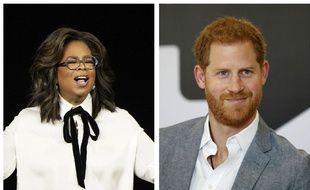 Oprah Winfrey et le prince Harry