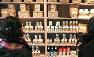 Près de 300 produits sont disponibles dans la nouvelle herboristerie.