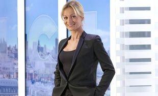 Audrey Crespo-Mara, la journaliste de TF1 insultée sur Facebook.