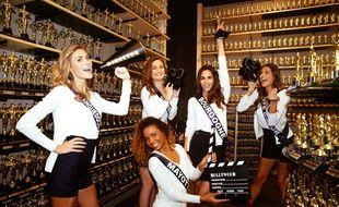 Les candidates à Miss France préparent le show 2018 aux Etats-Unis