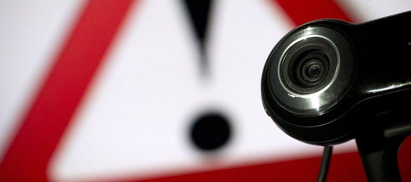 Un site internet russe peut espionner les images des webcams des particuliers (illustration).