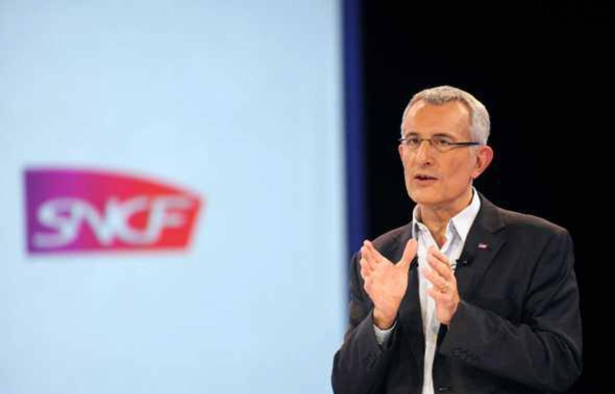 Guillaume Pépy, résident de la  SNCF, en janvier 2011 à Paris.    – CHAMUSSY/SIPA