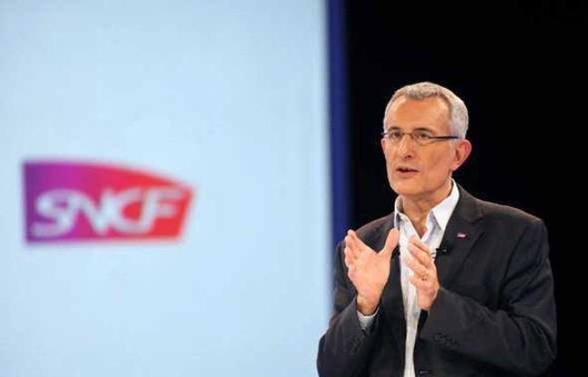 Guillaume Pépy, résident de la  SNCF, en janvier 2011 à Paris.