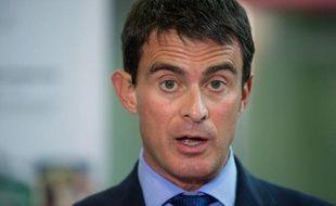Manuel Valls le 29 septembre 2014 à Besançon