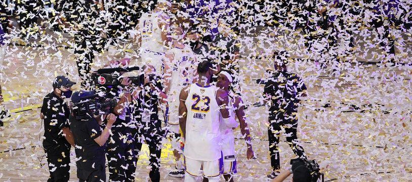 LeBron James a emmené les Lakers jusqu'à leur 17e titre.