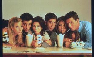 Les acteurs principaux de la série «Friends»