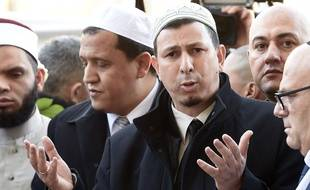 L'imam Hocine Drouiche, le 15 novembre 2015.