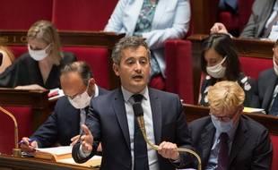 Gérald Darmanin, le 23 juin 2020 à l'Assemblée nationale.