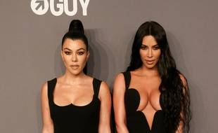 Les soeurs Kourtney et Kim Kardashian