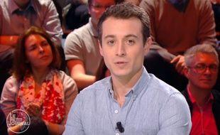 Hugo Clément, journaliste pour «Le Petit Journal» de Canal+.