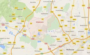Trois blessés dans un accident de la route à Wittelsheim, le conducteur prend la suite à pied