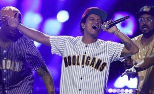 Bruno Mars le 25 juin 2017, à Los Angeles.