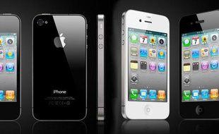 L'iPhone 4, présenté le 7 juin 2010 à San Francisco