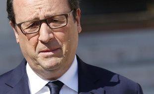 François Hollande le 25 juillet 2014 à Paris