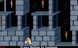 «Prince of Persia», dans sa version remasterisée de 1994.