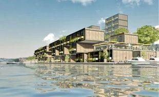 Cette résidence étudiante pourrait voir le jour sur la rive gauche du Rhône, à Gerland.