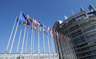 Le siège du Parlement européen, à Strasbourg.