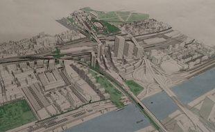 Le projet de Bercy Charenton