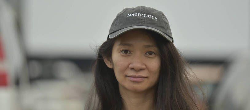 Chloé Zhao, réalisatrice du film « Nomadland », en Californie le 11 septembre 2020.
