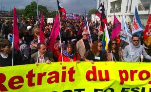 La manifestation du 17 mai à Nantes